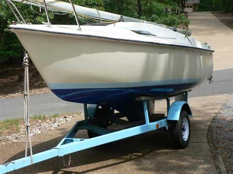 Renken 18 ft., 1984, Hot Springs Village, Arkansas sailboat