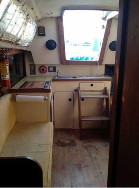 S2 8.0B, 1979 sailboat