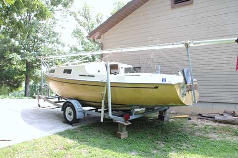 San Juan 21, 1977 sailboat
