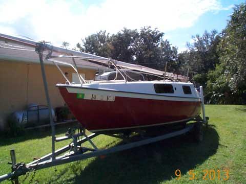 San Juan 21 Mark II, 1975 sailboat