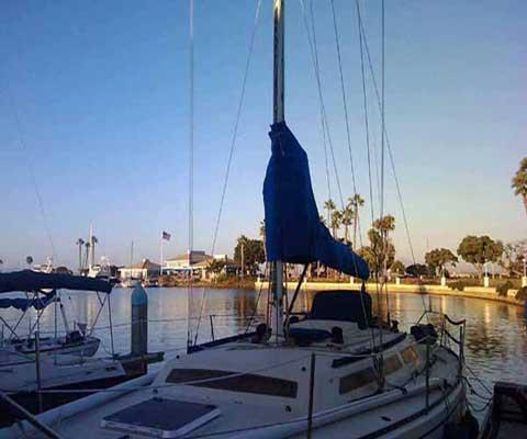 Santa Cruz 40, 1982, San Diego, California sailboat