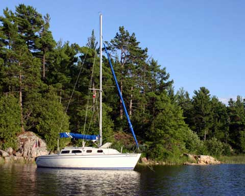 Santana 2023C, 1994, Marquette, Michigan sailboat