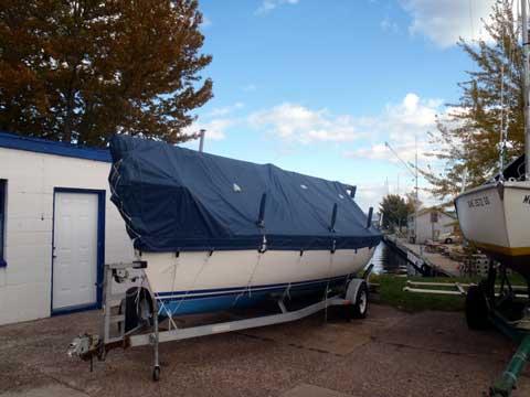 Santana 2023C, 1994, Marquette, Michigan sailboat