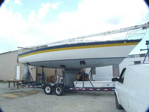 Santana 35 1980 Lake Lewisville Texas Sailboat For