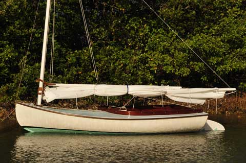Sarasota Catboat, 1980s sailboat