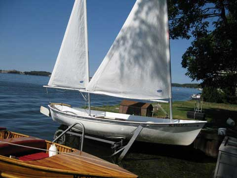 Marine Concepts Sea Pearl 21, 1986, Luddington, Michigan sailboat