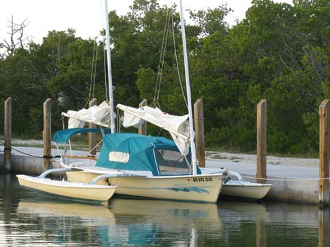 Sea Pearl 21' Trimaran, 1996 sailboat