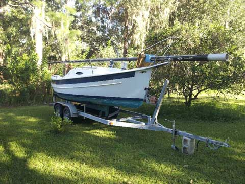Seaward Fox, 19', 1995 sailboat