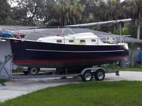 Hake Seaward 25 2002 West Coast Of Florida Sailboat For