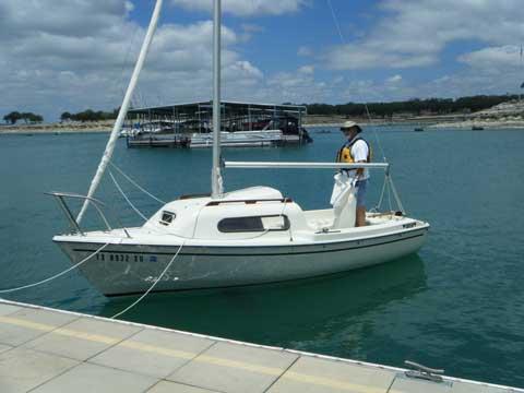 Siren 17', 1983 sailboat