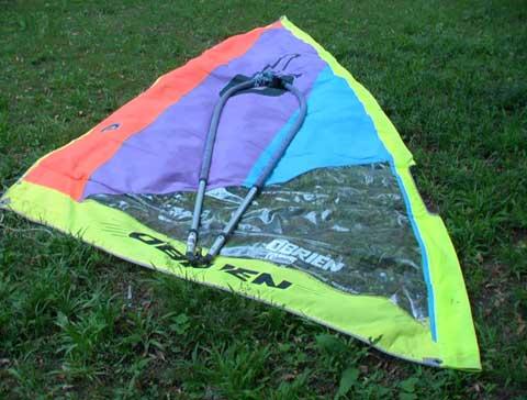 O'Brien Sensation windsurfer, Memphis, Tennessee sailboat