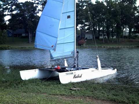 Solcat Catamaran, 18', 1978, Lufkin, Texas sailboat