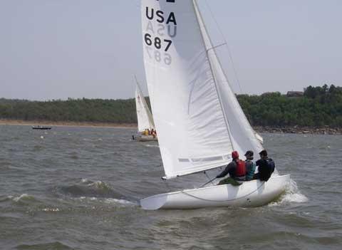 Soling 687, 1977, Tulsa, Oklahoma sailboat