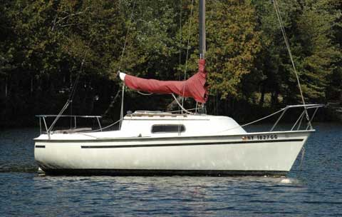 Spacesailer 20, 1980 sailboat