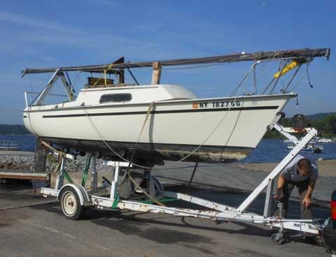 Spacesailer 20, 1980 sailboat