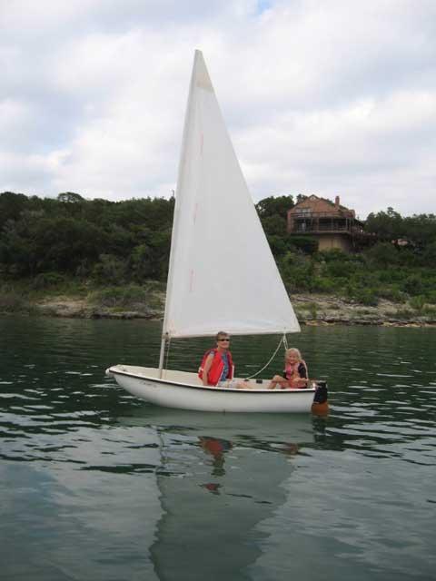 Boston Whaler Squall, 9 ft, 1984 sailboat