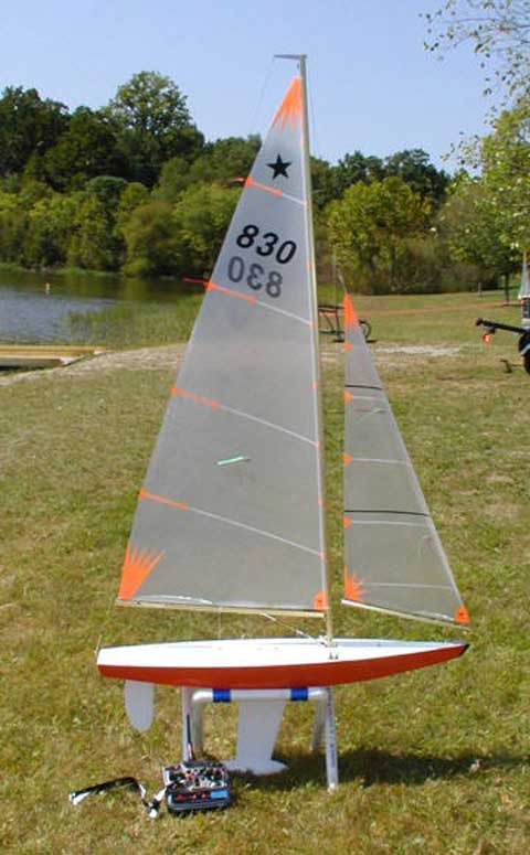 Star 45 Radio Control Model sailboat