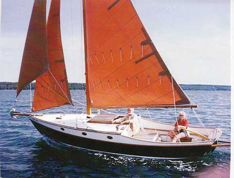 Stone Horse 23' Cutter, 1972 sailboat