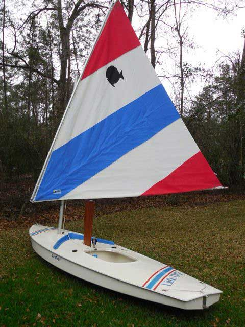 2 Sunfish Sail Boats, 1987 and 1978, The Woodlands, Texas sailboat