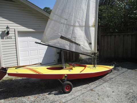 Super Sunfish, 1976, Wilmington, North Carolina sailboat