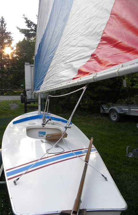 Sunfish, 1976 sailboat