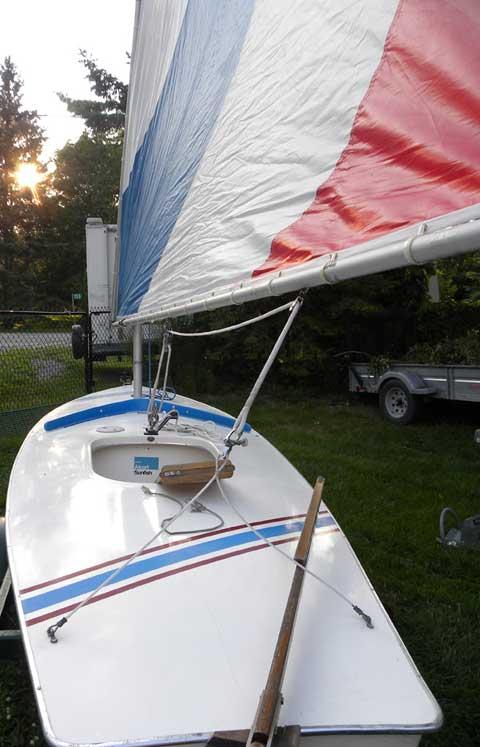 Sunfish, 1976 sailboat