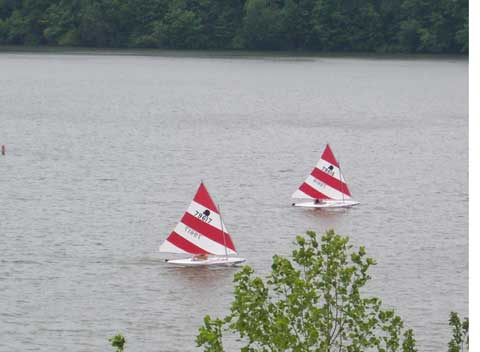 Two Vanguard Sunfish, 2005 sailboat