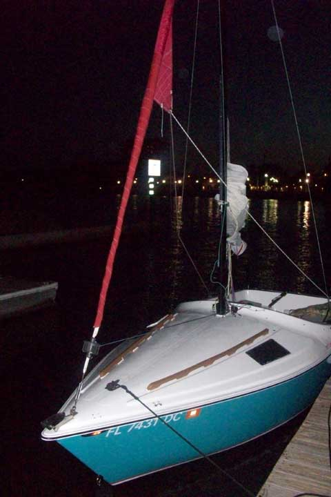 Tangerine 18 1978 Cocoa Florida Sailboat For Sale From
