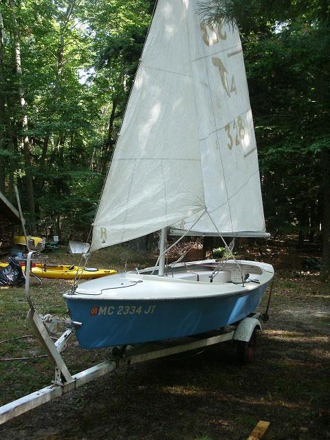 Tanzer 14 sailboat