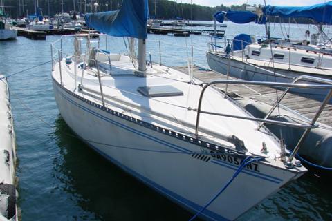 Tartan Ten 33 Ft 1979 Lake Lanier Georgia Sailboat