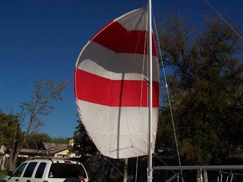 Texas Tornado, 1981, San Antonio, Texas sailboat