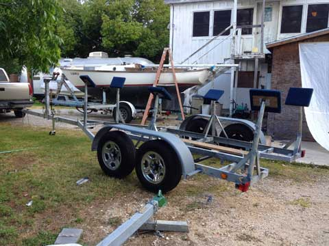 Sailboat Trailer For Sale >> Sailboat Trailer Up To 30 Feet Clear Lake Shores Texas