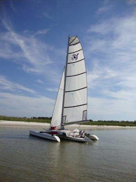 Trikala Trimaran, 19 foot, 1999, Valdosta, Georgia sailboat