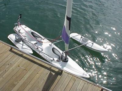 Triton Tandem Trimaran 14', Reno, Nevada, 2000 sailboat