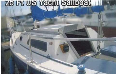 US Yachts 25, 1982 sailboat