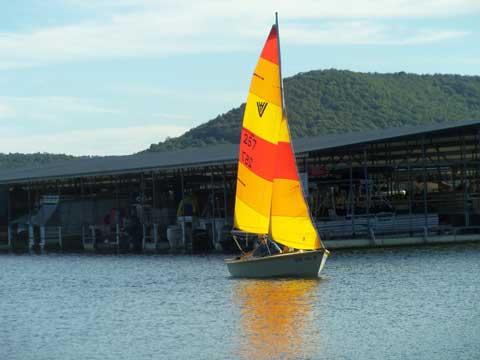 Vagabond 14', 1978 sailboat