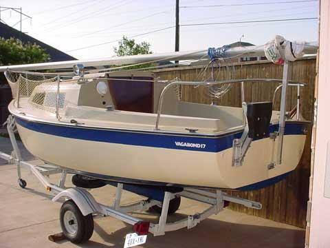 Vagabond 17, 1980 sailboat