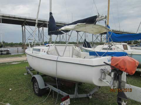MacGregor Venture 17, Lake Charles, Louisiana sailboat