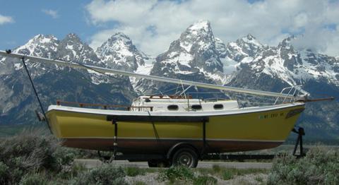 Venture 23, 1980, Idaho Falls, Idaho sailboat