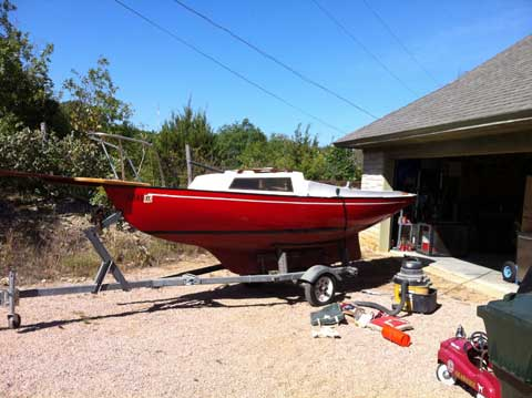 Victoria 18, 1984, Weatherford, Texas sailboat