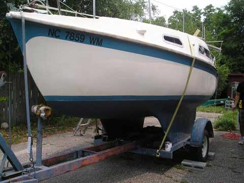 Vivacity 650 twin keel, 1972, Bath, North Carolina sailboat