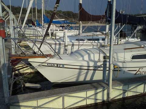 Watkins 23, 1978, Lake Stillhouse Hollow, Texas sailboat