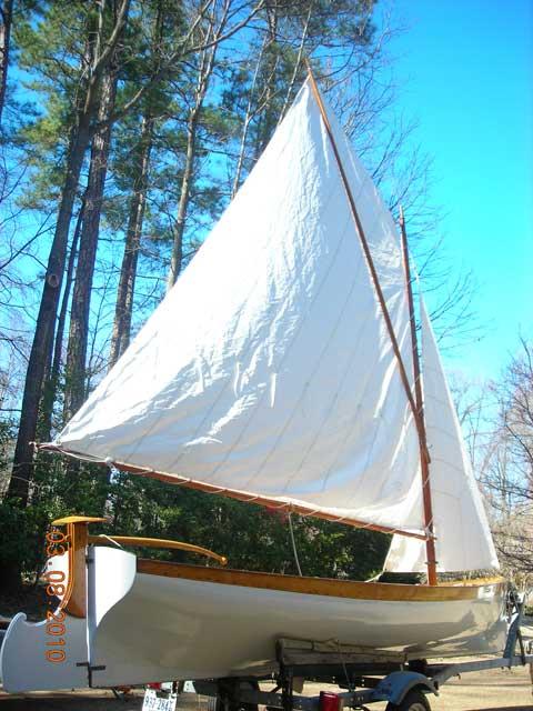 WHITEHALL 17 sailboat
