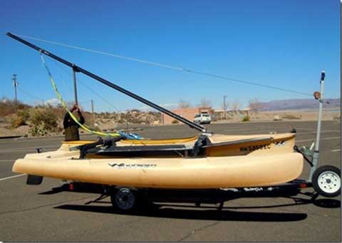 Windrider trimaran, 17', 2002, Truth or Consequences New Mexico sailboat