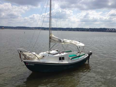 West Wight Potter 15, 2003 sailboat