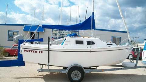 West Wight Potter 19, 2002, Lake Pleasant, Arizona sailboat
