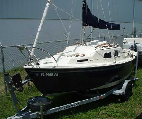 West Wight Potter 19, 2005 sailboat