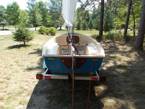 ZEF sailboat/sailing dinghy, 1972 sailboat