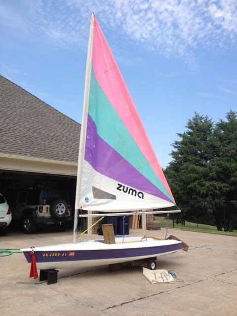 Zuma, 1994, Oklahoma City, OK sailboat