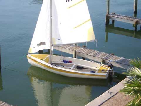 Sweet 16, 1976 sailboat